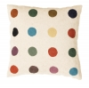 Multi Colour Spots/white